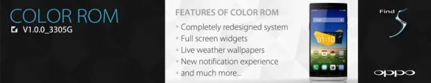 oppo color rom