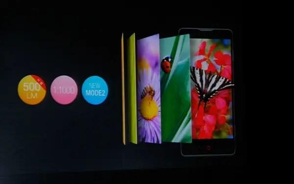 nubia z5 mini display