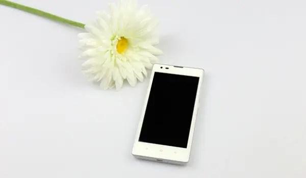 white xiaomi redmi