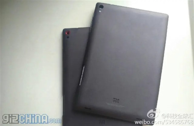 xiaomi tablet leaked