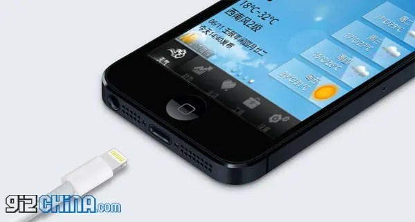 zophone i5 iphone 5 clone lightning adapter