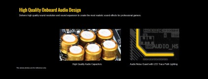 PCB aislado y condensadores japoneses de alta calidad.