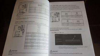 Puertos USB internos de la MSI Gaming Pro Carbon