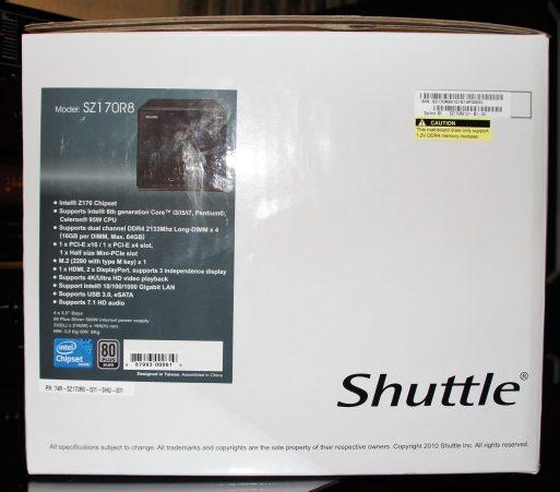 Gizcomputer-Shuttle SZ170R8