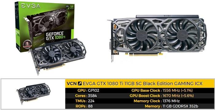 Gizcomputer-EVGA GeForce GTX 1080 Ti FTW3 GAMING ICX, GTX 1080 Ti SC2 y GTX 1080 Ti SC Black Edition GAMING ICX (2)