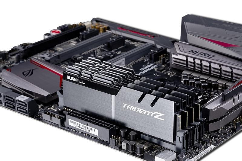 G.Skill Trident Z@4333 MHz: los módulos de memoria DDR4 más rápidos