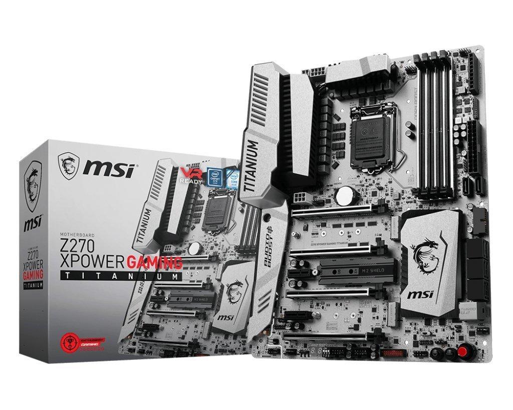 MSI Z270 XPower Gaming Titanium, el sueño de todo overclocker