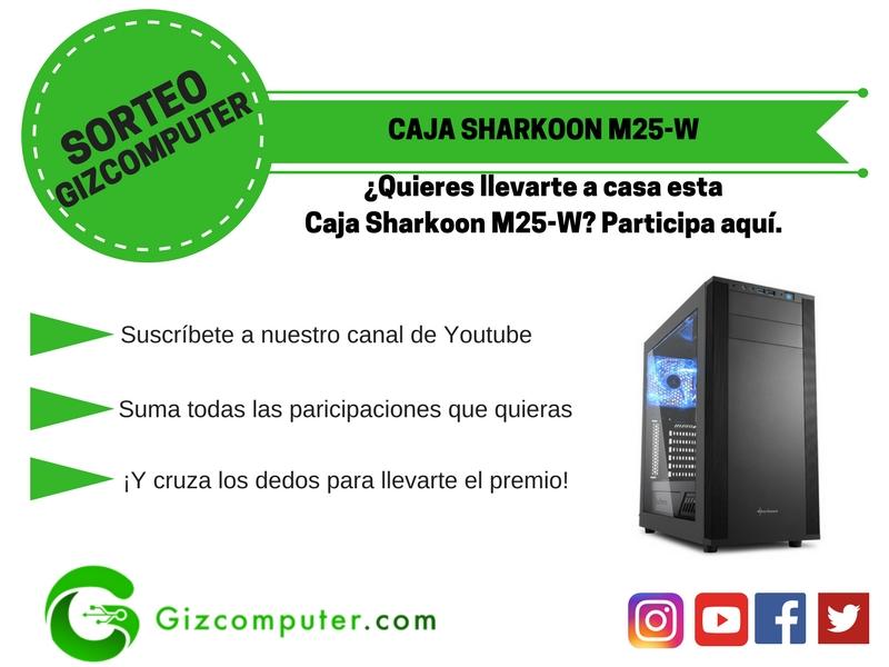 Sharkoon M25-W Sorteo
