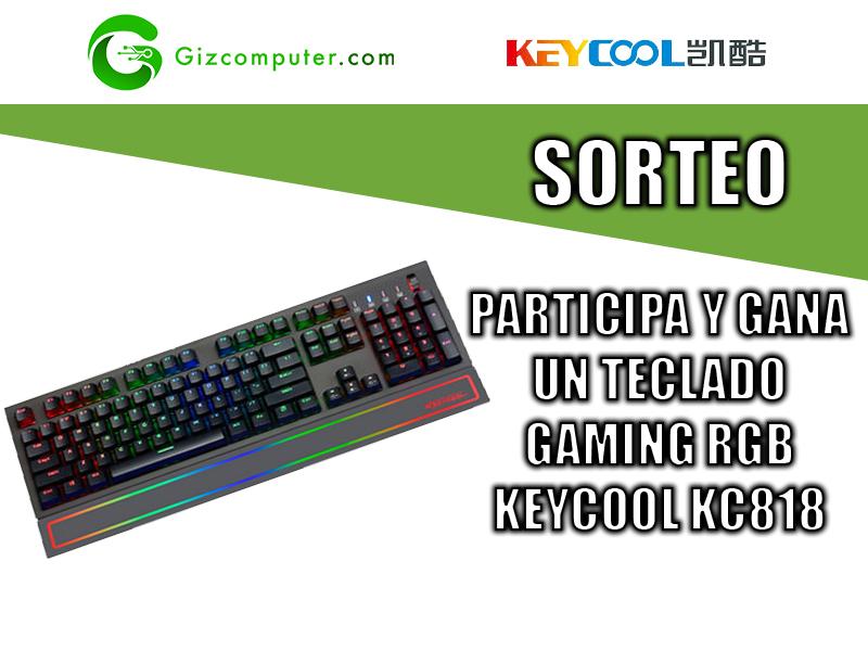 SORTEO: Participa y gana un teclado RGB KEYCOOL