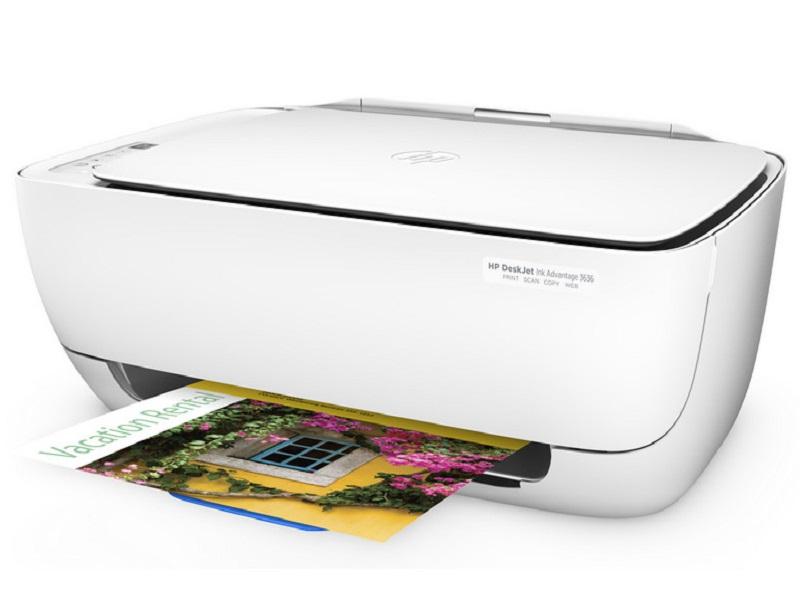 HP DeskJet 3636, una impresora multifunción compacta y barata