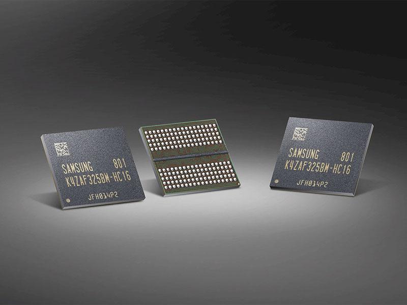Samsung comienza la producción de los chips de memoria GDDR6 de 16 Gb