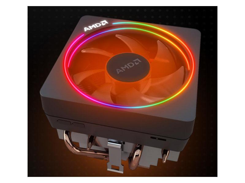 Nuevo disipador iluminado para los Ryzen 2, AMD Wraith Prism