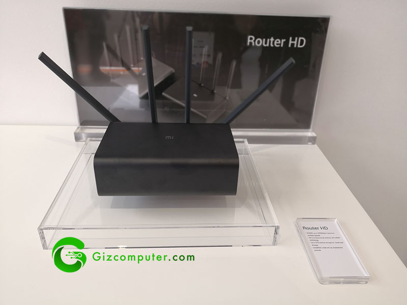 #MWC18: Router HD Xiaomi