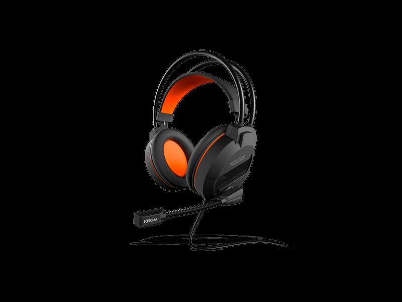 Nox presenta los auriculares gaming Krom Khami