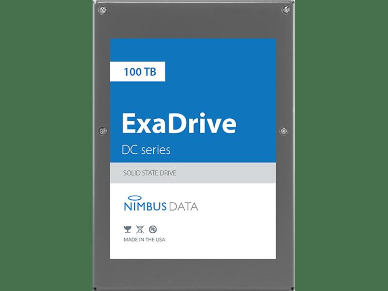 Nimbus Data anuncia la unidad SSD record, Nimbus ExaDrive DC100 con 100 terabytes