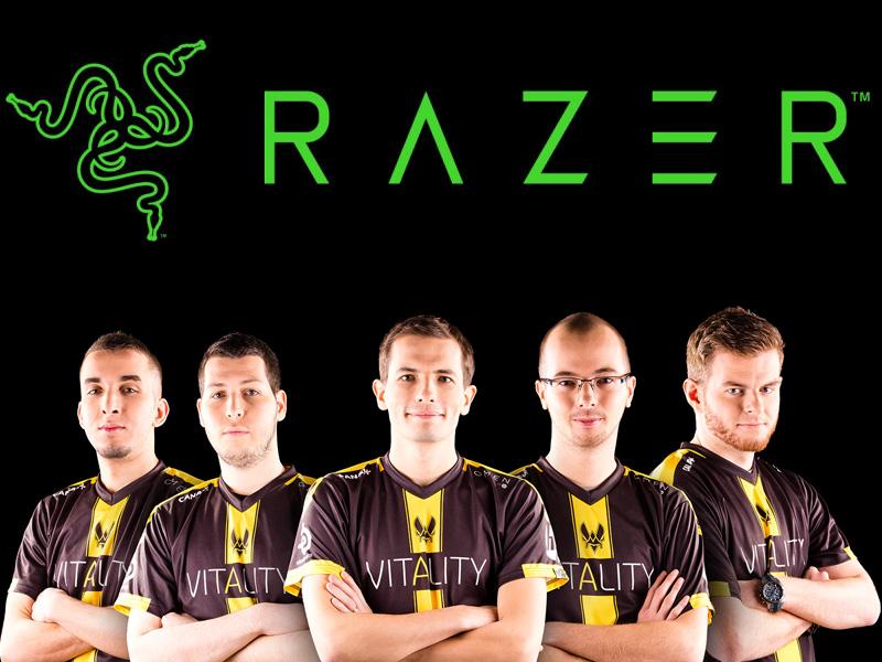 Razer patrocina a los pro gamers del Team Vitality