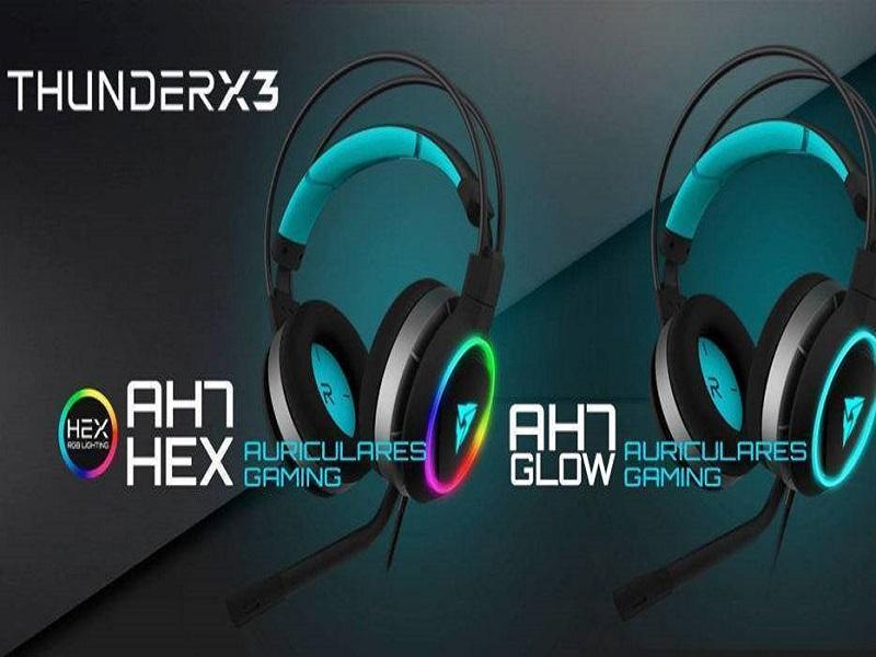 ThunderX3 AH7, nuevos auriculares gaming para la alta competición