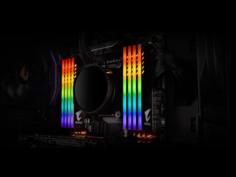 memorias Aorus RGB