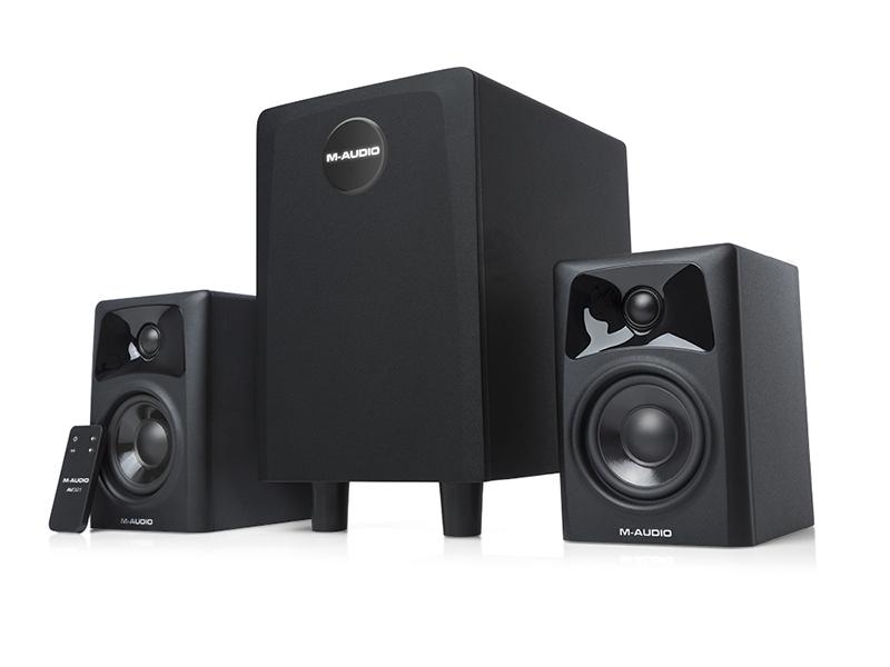 M-Audio AV32.1, audio de calidad profesional en el escritorio