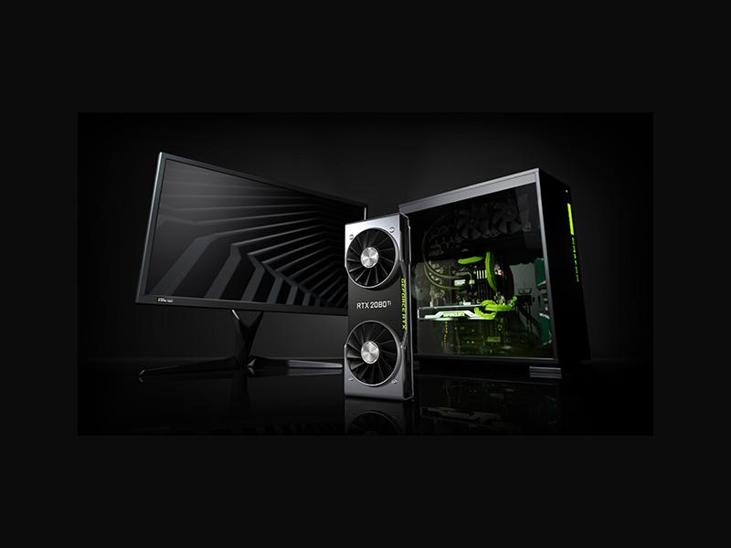 Presentación de las Nvidia GeForce RTX 2000 en Gamescom 2018