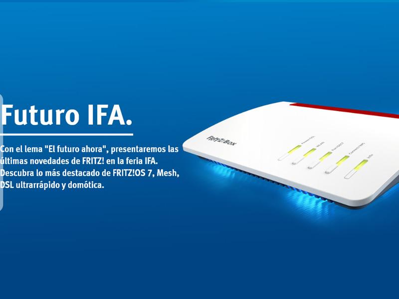 #IFA18: AVM presenta FRITZ!Box 7530, FRITZ!Fon C6 y FRITZ!Repeater 300
