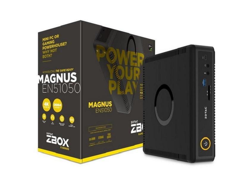 Zotac ZBOX MAGNUS EN51050, Mini PC para llevar al límite tu juego