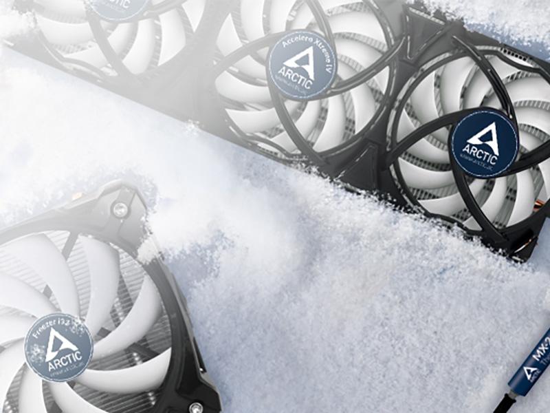 Nuevos ventiladores Arctic BioniX P120, P12 PWM y P12