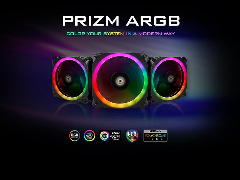 Nuevos ventiladores PRIZM ARGB de Antec