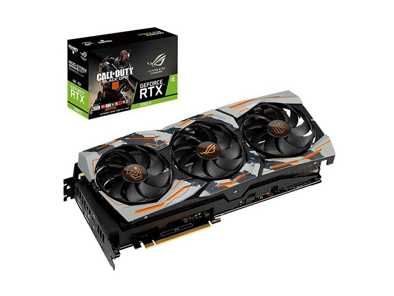 Asus ROG Strix GeForce RTX 2080 Ti OC Call of Duty: Black Ops 4 Edition, para fanáticos del videojuego