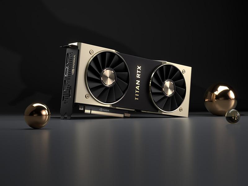 Anunciadas las nuevas NVIDIA GeForce Titan RTX, solo aptas para el ámbito profesional