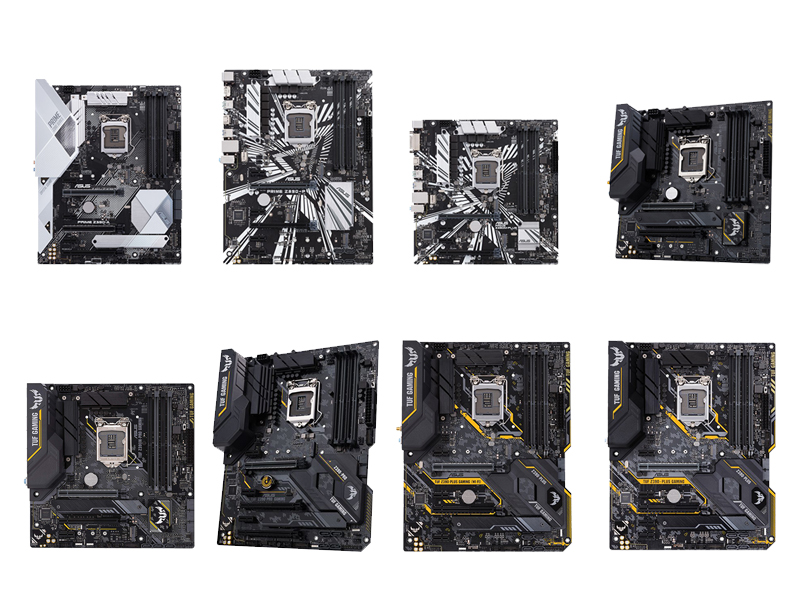 Placas Asus Z390, comparamos todas las versiones