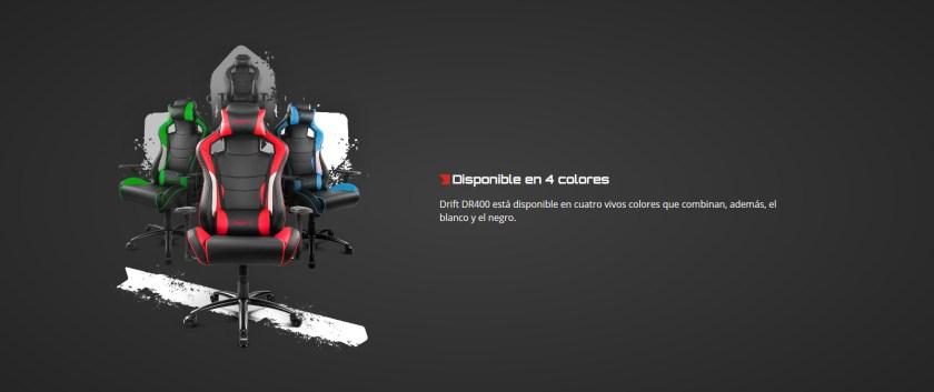 Drift DR400, colores