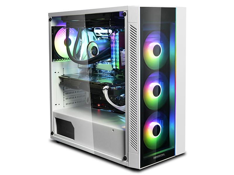 La caja MATREXX 55 ADD-RGB de DeepCool ahora en color blanco