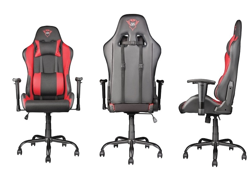 Trust Gaming GXT 707 Resto, una silla gamer ergonómica y ajustable
