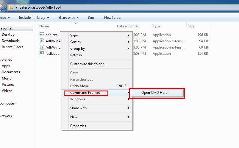 adb fastboot cmd - Install Oreo Beta 2 OxygenOS 5.0 For OnePlus 5 [Leaked]