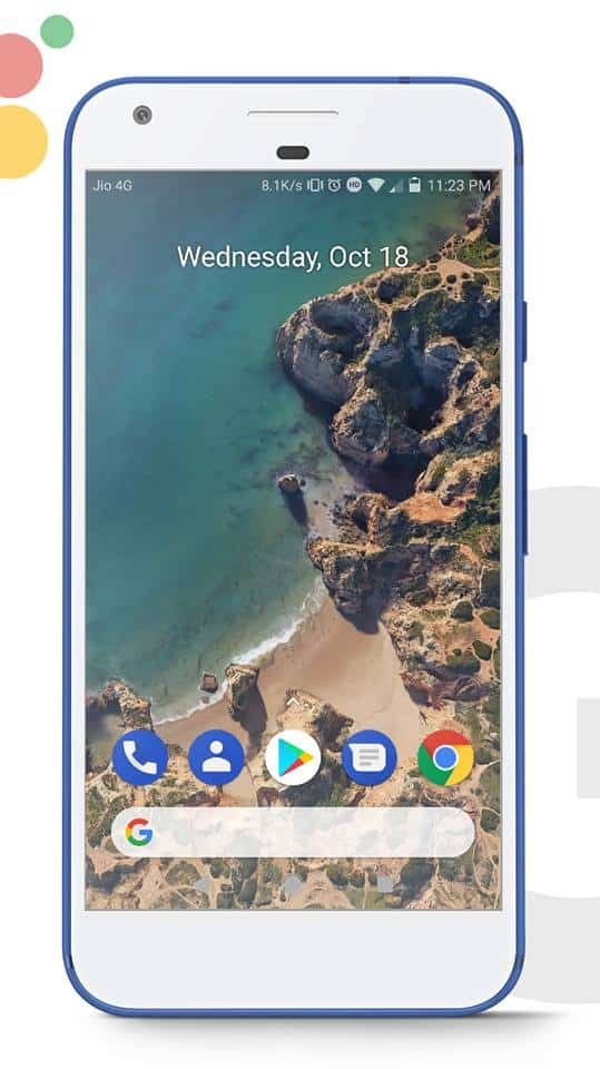 Google Pixel 2 EMUI Theme 1 - Download Google Pixel 2 Theme For EMUI 5.0 Devices
