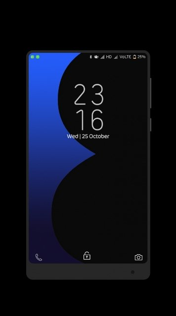 ss 1 - Download Samsung Galaxy S8 Plus Theme For MIUI Devices (V 1.1)