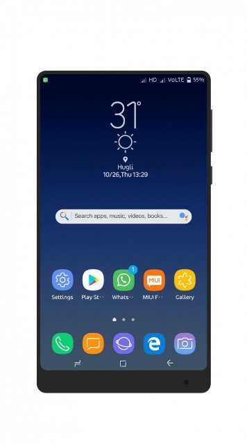 ss 3 - Download Samsung Galaxy S8 Plus Theme For MIUI Devices (V 1.1)