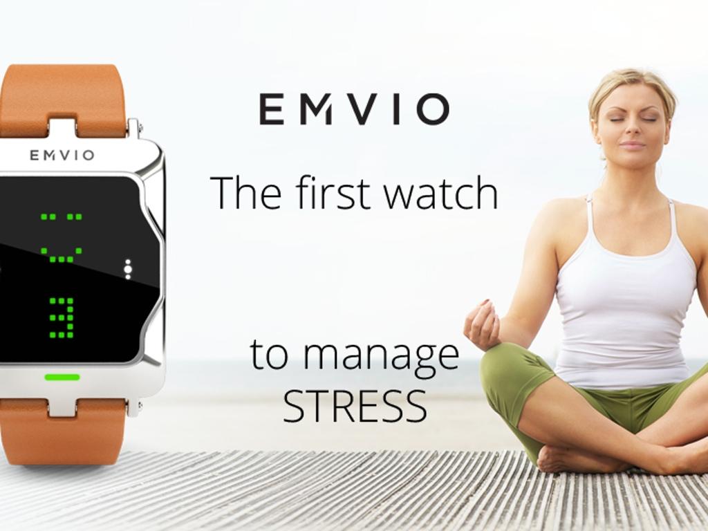 Emvio el smartwatch que te avisa del estrés