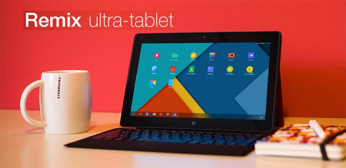 Jide Remix Ultra-tablet, productividad y movilidad