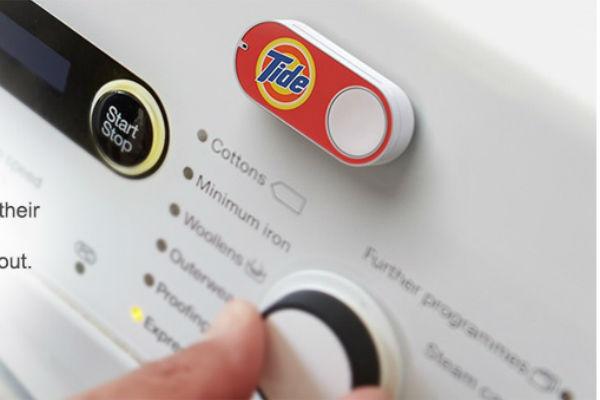 Amazon Dash, para comprar con solo pulsar un botón