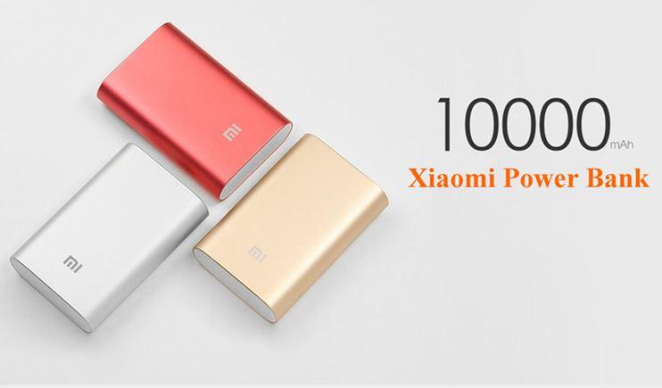 Xiaomi Power Bank 10000 mah, aún más pequeño
