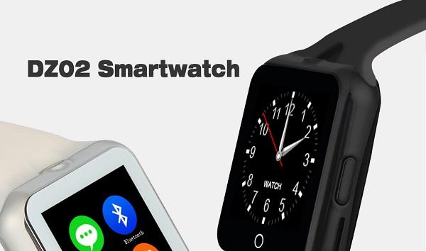 DZ02 smartwatch, no le falta detalle