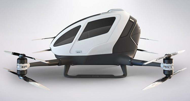 Ehang 184 el dron que trasporta personas