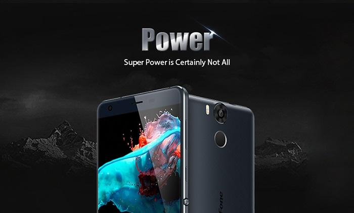 Ulefone Power, 5.5 pulgadas, 3 GB de RAM y 6.050 mAh
