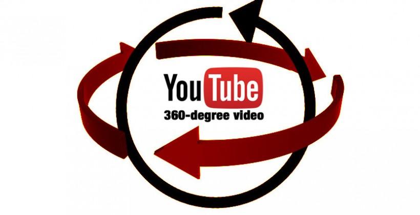 YouTube lanza vídeos en directo de 360º