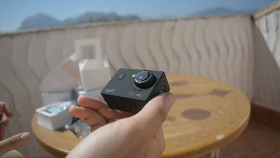 Así graba la Elecam Explorer, la sportcam de Elephone