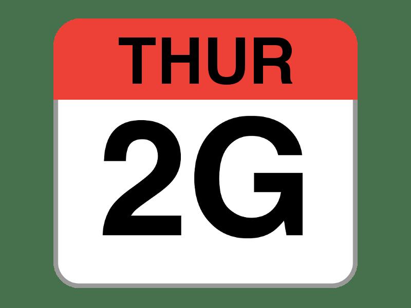 Throwback Thursday: El 2G