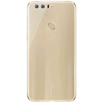 Huawei Honor 8 Premium, Cubierta posterior con sensor de huellas 3D