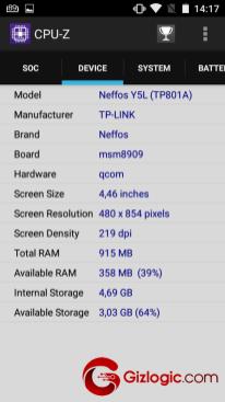 TP-Link Neffos Y5L